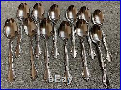 Oneida CANTATA Glossy Community Stainless 18/8 Set of 65 pieces