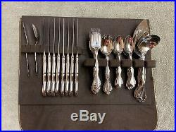 Oneida CANTATA Glossy Community Stainless flatware 57 pieces