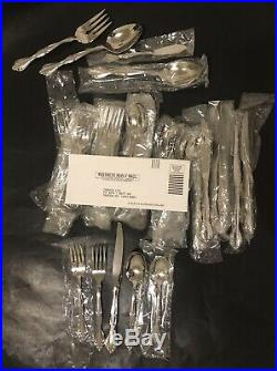 Oneida Cantata Glossy USA Stainless Flatware 44 Pieces