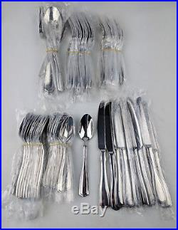 Oneida Carolina 65-Piece Flatware Set Service for 12 Dining Silverware Kitchen