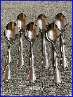 Oneida Chatelaine community stainless flatware 40 pieces