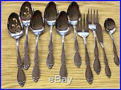 Oneida Chatelaine community stainless flatware set of 70 pieces