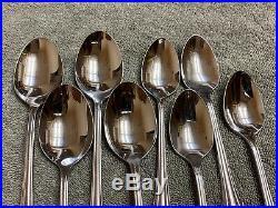Oneida Clarette community stainless flatware 20 pieces