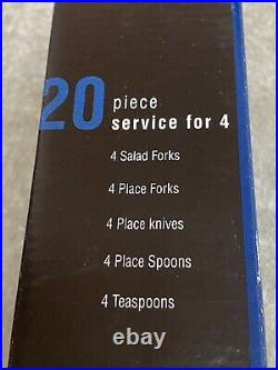 Oneida Colonial Boston 18/8 stainless steel USA flatware 20 pieces