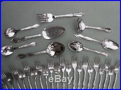 Oneida Community Chatelaine Stainless Steel Flatware Set for 12 w Serving 68pc