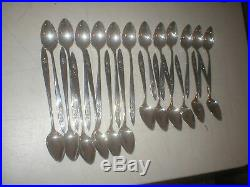Oneida Community My Rose Stainless Steel 158pc 12 Place Setting Set Flatware Exc