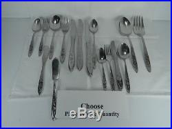Oneida Community My Rose Stainless Steel Flatware-your Choice
