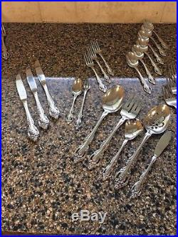 Oneida Community Stainless Brahms 40 Great Pieces! Youth, Tea, Forks, Salad