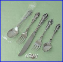 Oneida Community Stainless Brahms Service For Eight 49 Pc Set Includes Serving