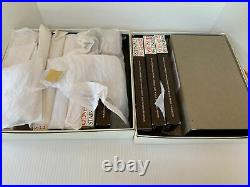 Oneida Community Stainless CHERBOURG Service for 11 + Hostess Set NOS & BOXES