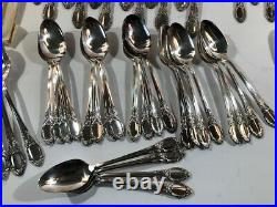 Oneida Community Stainless Chatelaine 77 Pc Flatware Set Serving Service 12 NEW