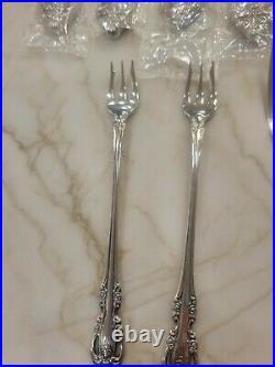 Oneida Community Stainless Flatware BRAHMS 35 Pcs knife fork spoon serving