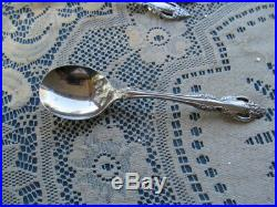 Oneida Community Stainless Flatware Brahms 12 Round Bowl Gumbo Soup Spoons 7
