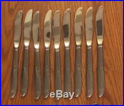 Oneida Community Stainless Flatware Twin Star 77 Pieces FREE SHIPPING
