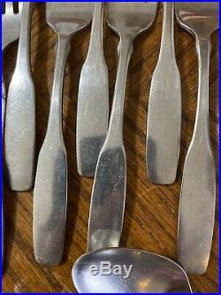 Oneida Community Stainless PAUL REVERE Forks Knives Spoons Teaspoons Lot of 35