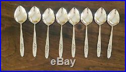 Oneida Community Stainless ROSE SHADOW 46 pc STARTER SET Flatware Service for 8+