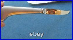 Oneida Community Stainless Satin Flatware Paul Revere 8 Pistol Steak Knives 9