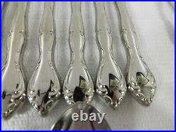 Oneida Community Stainless Steel Flatware Set Cantata Srvc for 8 & Serving PCS