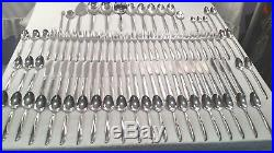 Oneida Community Stainless TWIN STAR Huge Lot 99 Pcs. EXCELLENT CONDITION