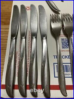 Oneida Community Stainless Twin Star Flatware Set of 30 Pieces
