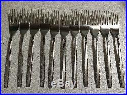 Oneida Community Stainless VIA ROMA Betty Crocker flatware replacement set 61 pc