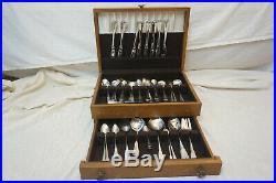 Oneida Community Stainless Vintage Flatware Set, 136 Pieces