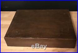 Oneida Community Twin Star Stainless Flatware 73pc Set with Storage Box NEW