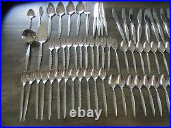 Oneida Community VENETIA Stainless Steel Flatware Lot of 100 Pcs. Serving pieces