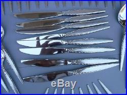 Oneida Community Venetia Stainless Steel Flatware Set 55pc