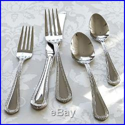 Oneida Countess 65 Piece Casual Stainless Flatware Set, Service for 12