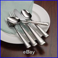 Oneida Couplet 66 Piece Service for 12 Flatware Set 18/10 Stainless Steel