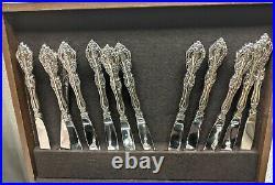 Oneida Cube Stainless Flatware 84 Pc Set Michaelangelo 13 Five-Piece Place Sets