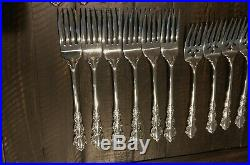 Oneida Cube Stainless Shelley Flatware 30 Piece Set Service for 6