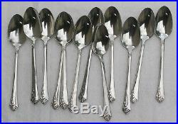 Oneida Damask Rose Stainless Flatware 64 Pieces 12 Place Settings Cube Mark