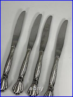 Oneida Deluxe ALEXIS 21 Pc Place Setting Stainless Flatware Mixed Lot Fork Spoon