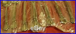 Oneida Deluxe ALEXIS 7 Piece Place Setting Stainless USA Flatware Unused