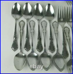 Oneida Distinction Deluxe HH MANSION HALL Stainless Flatware 6+ Settings 50pc