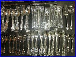 Oneida Distinction HH Stainless Flatware Mansion Hall 58 Pieces New