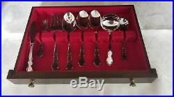 Oneida Dover 76 Pc Stainless Flatware set 5 Piece Place Setting Service for 12