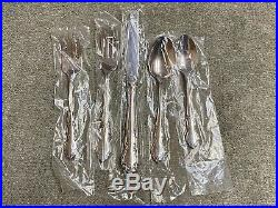 Oneida Dover glossy stainless 18/8 flatware 60 pieces