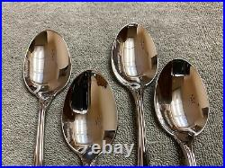 Oneida Dover glossy stainless steel flatware 20 pieces cube mark