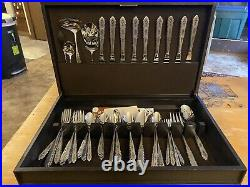 Oneida FLORAL BOUQUET Stainless Distinction Deluxe HH Silverware Flatware
