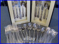 Oneida Flatware Countess NEW 53 piece service for 8+ Extra Tsps and Dinner Forks