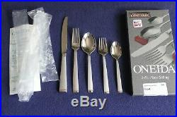 Oneida Frost Community Stainless FIVE 5 Pc Place Settings Hostess Serving Sets