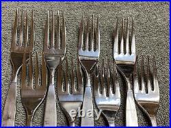 Oneida Frostfire Community stainless flatware 20 pieces