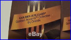 Oneida Golden Juilliard place settings serves 7