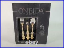 Oneida Golden Michelangelo 20 Piece Fine Flatware Set, 18/10 Stainless, Service/ 4