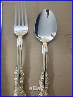 Oneida Golden Michelangelo 20 Piece Flatware Set