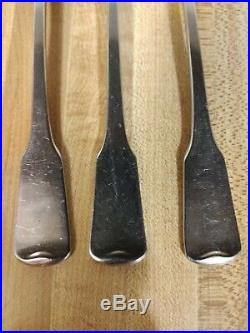 Oneida Heirloom Cube AMERICAN COLONIAL Set of 6 Dinner Forks 7 1/4 Stainless