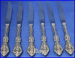 Oneida Heirloom Michelangelo Set of 34 Pieces Glossy Stainless Flatware